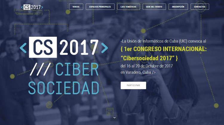 International Congress on Cyber Society 2017 Begins in Cuba