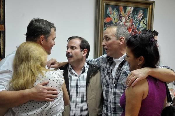 La felicidad de los Héroes, en su rencuentro en La Habana