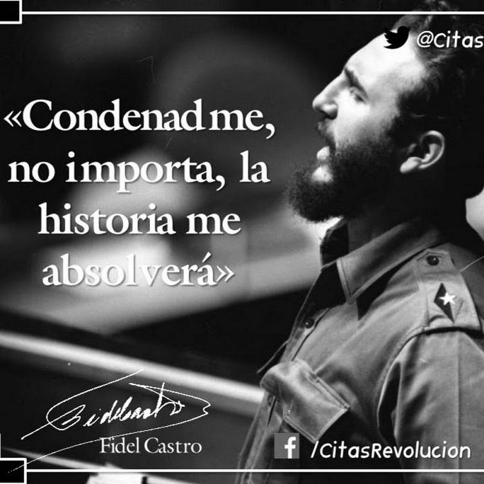 Fidel Castro y el alegato La historia me absolverá (+Audio)