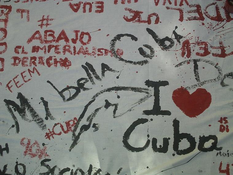 Jóvenes cubanos rechazan acciones subversivas de Estados Unidos