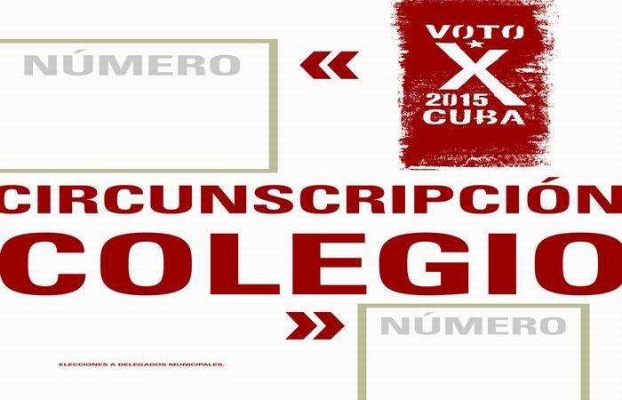 Para estas elecciones parciales en Cuba deben efectuar su voto en cada colegio un promedio de 348 personas