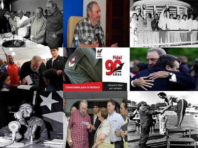 Al Comandante en Jefe por sus 90 años