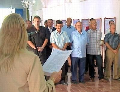 Constituida la Comisión Electoral Provincial en Holguín. Foto: Aroldo García