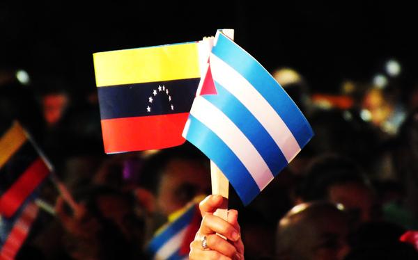 Apoya Cuba la Campa�a Internacional �Venezuela no es una amenaza, somos esperanza�