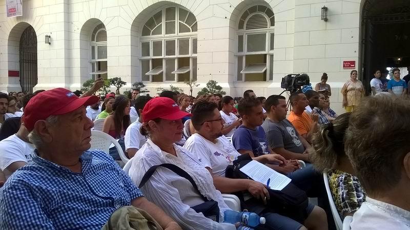 Concluye Encuentro de Estudiantes Antimperialistas (+Audio)