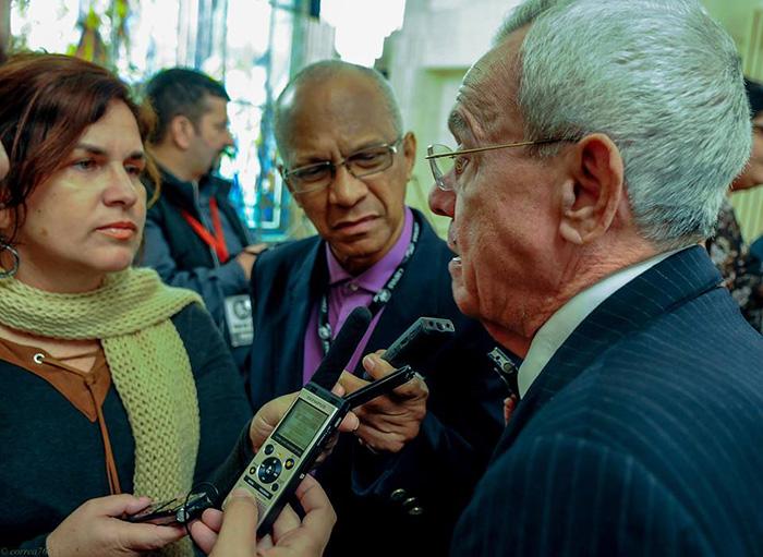 Eusebio Leal: La historia de Cuba y Rusia jamás será olvidada. Foto: José Manuel Correa