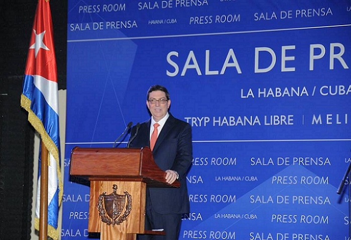 Afirma canciller cubano que el bloqueo seguirá siendo causa de privaciones