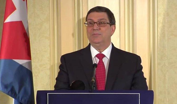 """Canciller cubano: """"Los cambios necesarios en Cuba los decidirá soberanamente el pueblo cubano"""""""