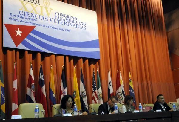 Concluye Congreso Panamericano de Veterinaria