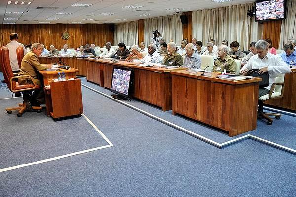 Durante la reunión del Consejo de Ministros del pasado sábado fueron aprobadas políticas estratégicas para el desarrollo del país. Foto: Estudios Revolución