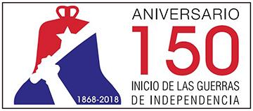 Aniversario 150 Inicio de las Guerras de Independencia. Cuba