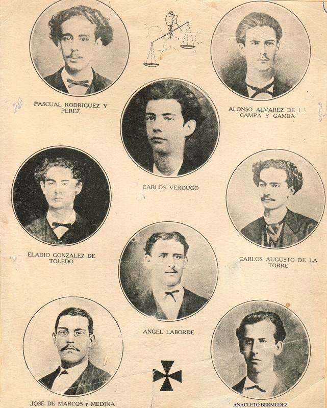 Asesinato de los ocho estudiantes de medicina el 27 de noviembre de 1871