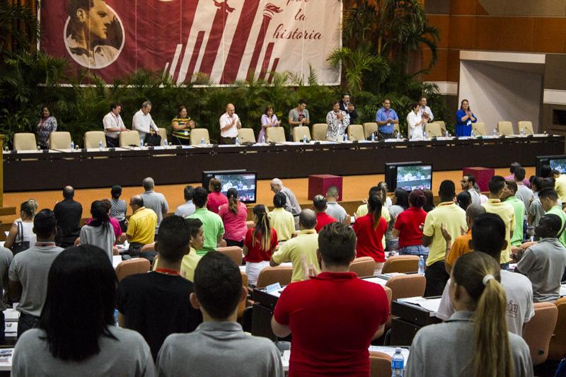 IX Congreso de la FEU  en consecuencia con los tiempos actuales