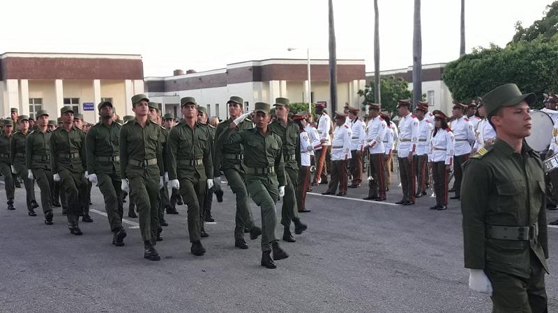 Nuevos oficiales para la defensa de la Patria