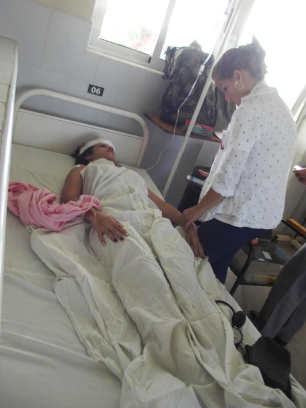 Accidente masivo con 31 lesionados en Camagüey