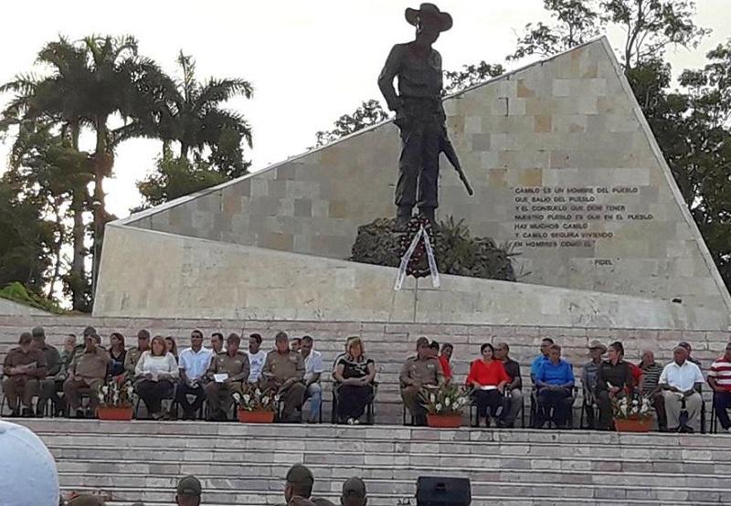 Celebran acto por el aniversario 60 del Frente Norte de Las Villas