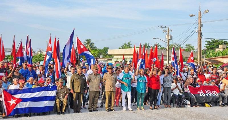 Celebaron pineros Día de la Rebeldía Nacional