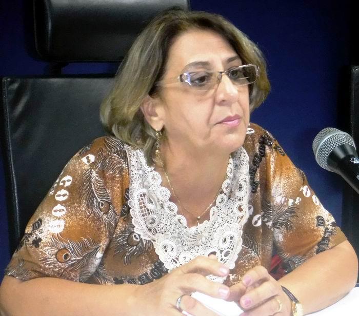 Presidenta de la Comisión Electoral Nacional, Alina Balseiro Gutiérrez