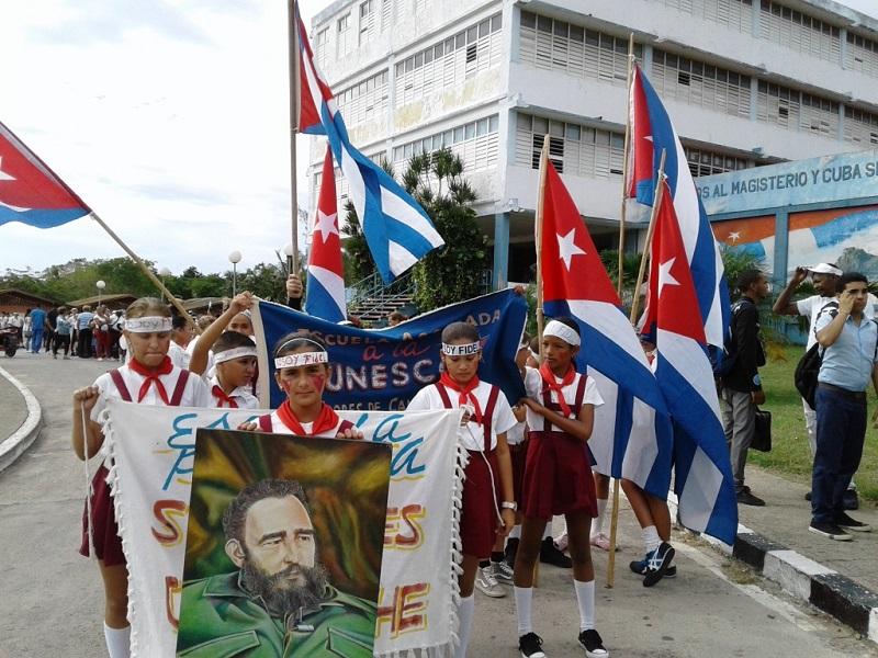 ¡Yo soy Fidel!: reafirman jóvenes matanceros