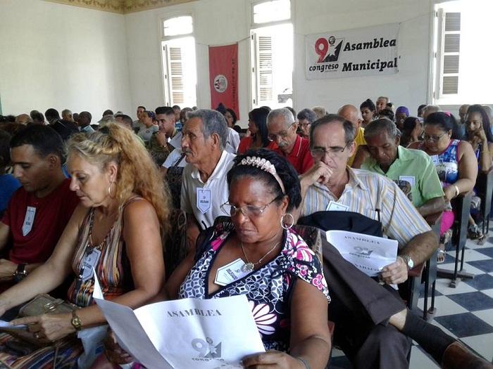 Efectuada en Guanabacoa Asamblea IX Congreso de los CDR