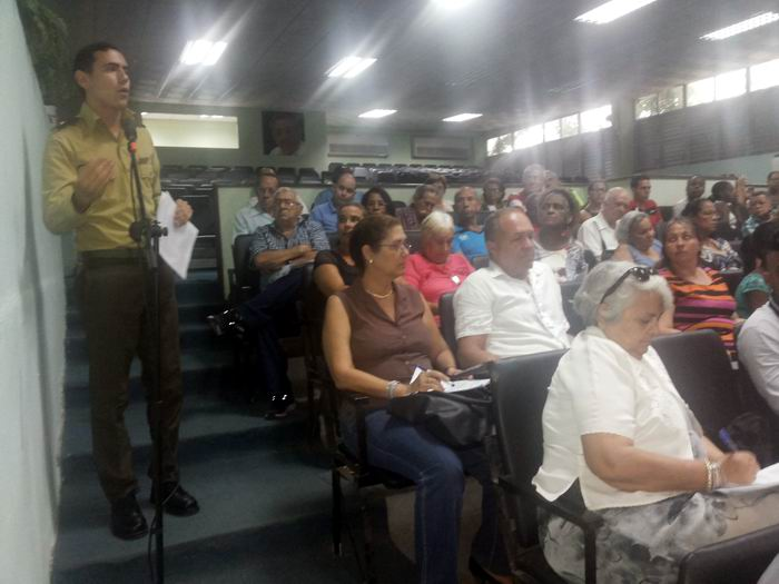 Concluyó en La Habana Asambleas municipales IX Congreso de los CDR. Foto: Carlos Serpa