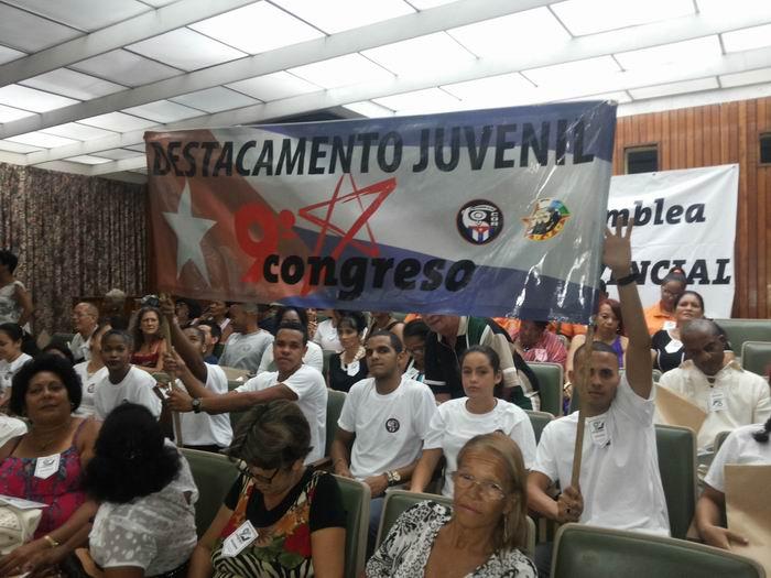 Realizan en La Habana Asamblea IX Congreso de los CDR