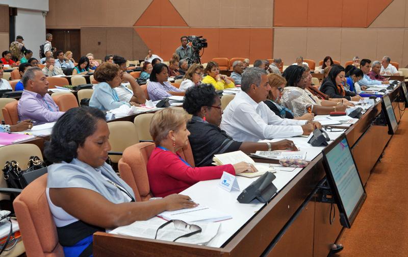 Concluyeron debates en las comisiones permanentes de la Asamblea Nacional del Poder Popular