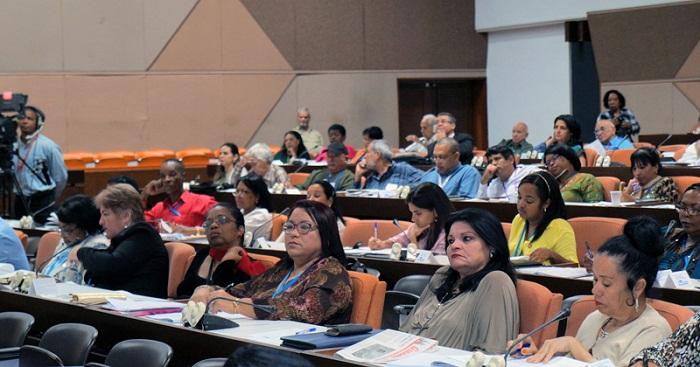 Concluyen debates en comisiones permanentes de Asamblea Nacional del Poder Popular