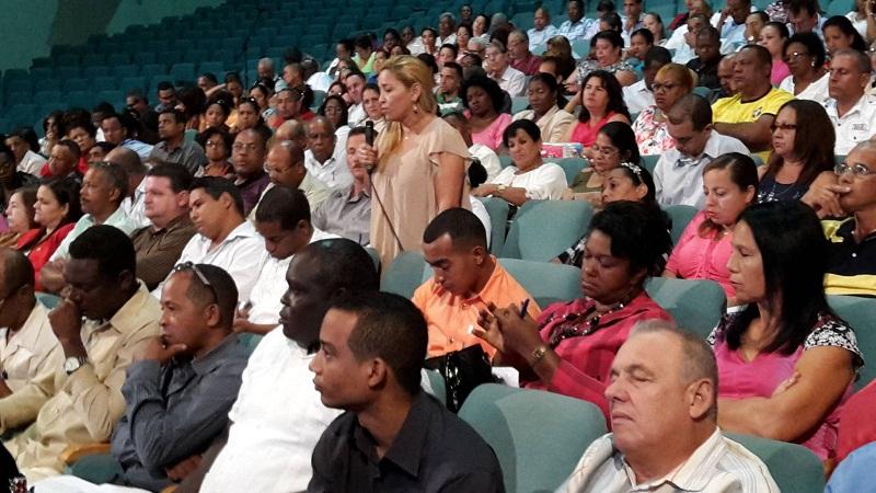 Sesiona en Santiago de Cuba Asamblea del Poder Popular