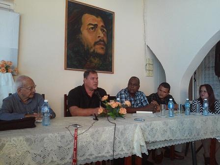 Asistió Ramón Labañino al Pleno Ampliado a la ANEC (+Fotos y Audio)