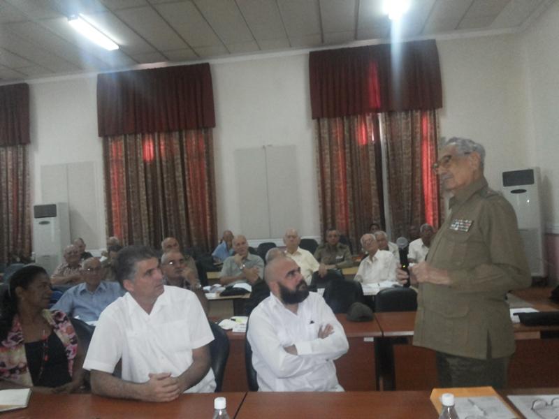 Evalúa Asociación de Combatientes trabajo realizado en 2017