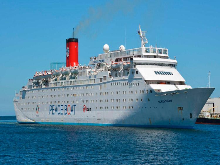 Crucero por la Paz Ocean Dream llegará a Cuba