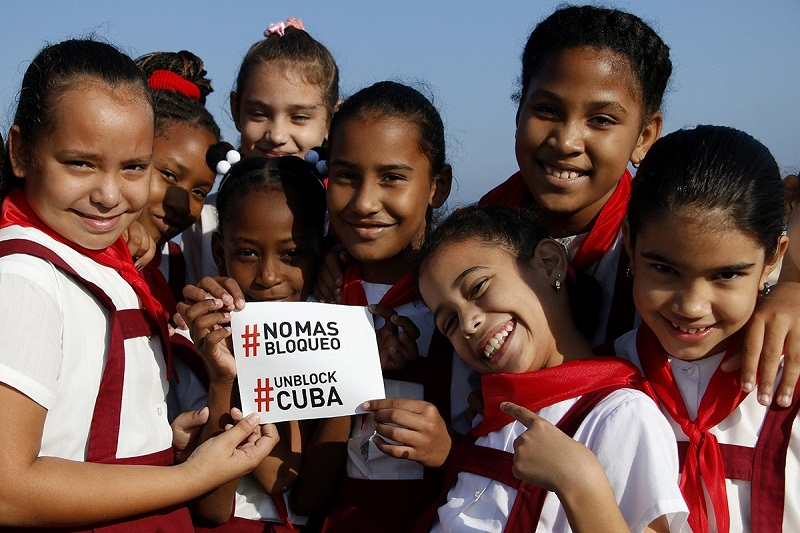 Blockade of Cuba, the main obstacle to our full development