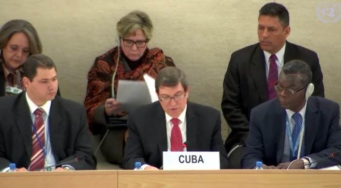 Adoptarán en Ginebra el informe de Cuba sobre derechos humanos