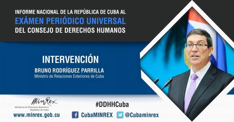 Cuba mostrará sus logros en materia de derechos humanos