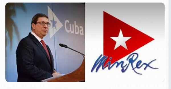 Cuban FM demands U.S. to lift blockade, reestablish visas, and cease repression