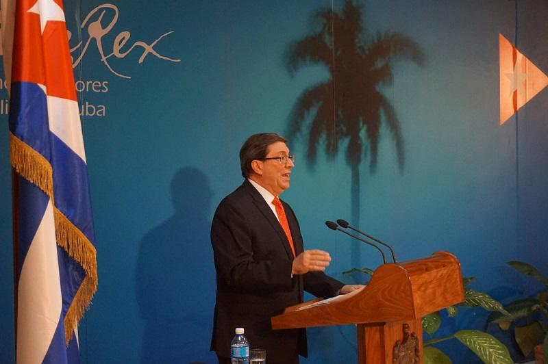 Denuncia Canciller cubano enmiendas propuestas por EEUU