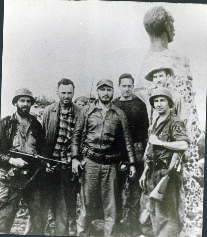 Camilo Cienfuegos, líder carismático y de gran arraigo popular