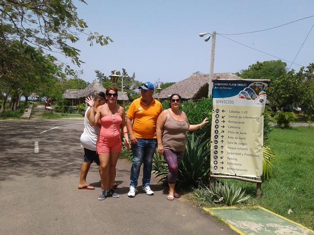 Disfrutes en el campismo popular Playa El inglés, de Cienfuegos
