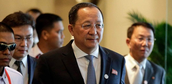 Korean Foreign Minister carries out Official Visit to Cuba