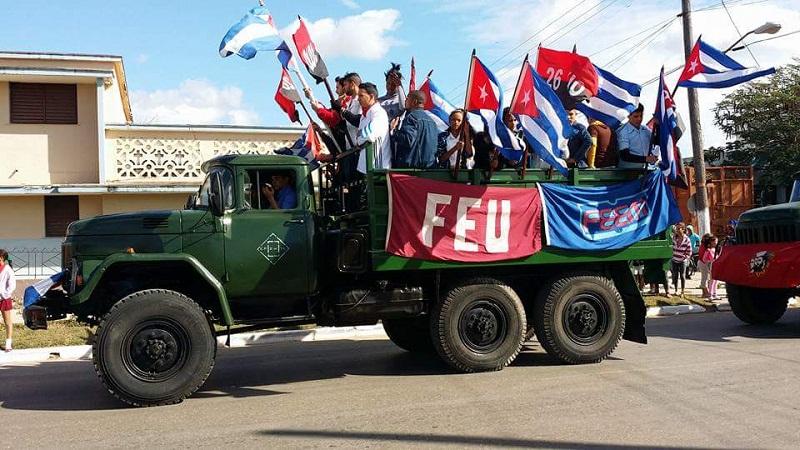 Llegó a Matanzas la Caravana de la Libertad