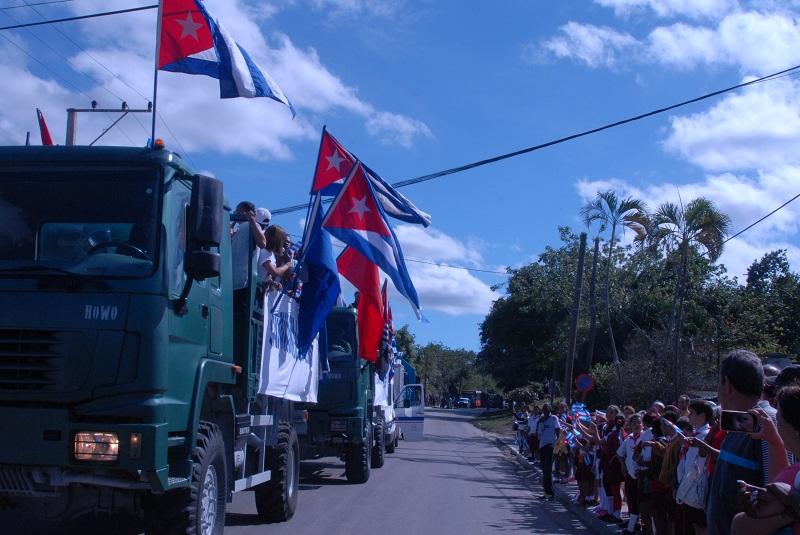 Rememora La Habana entrada de la Caravana de la Libertad