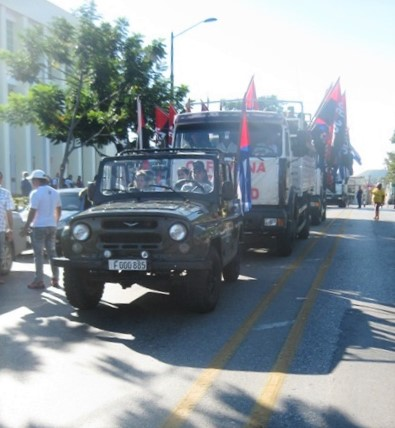 Partió desde la Ciudad Heroica la reedición de la Caravana de la Libertad