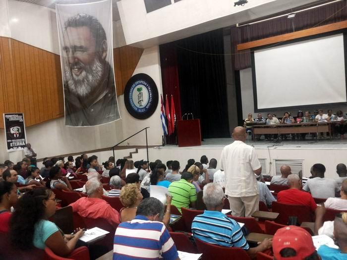 Desarrollan Asambleas Municipales IX Congreso de los CDR en La Habana