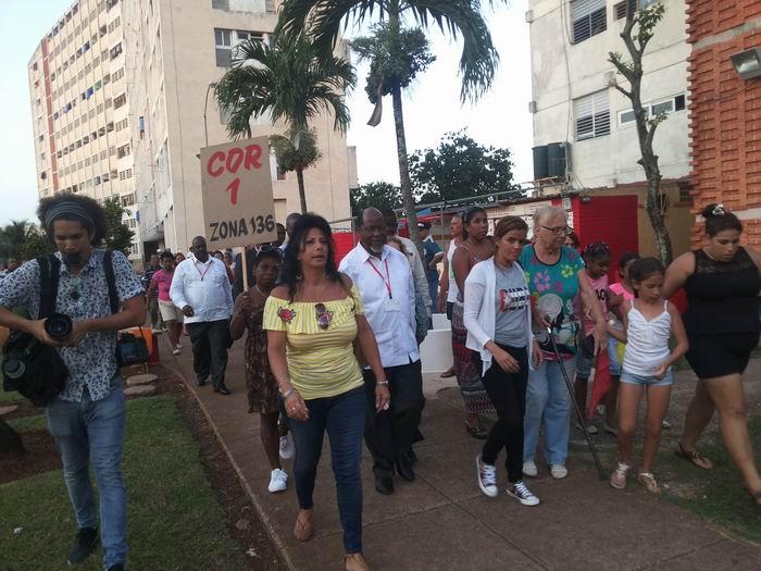 Delegados al Foro de Sao Paulo se reúnen con cederistas en La Habana