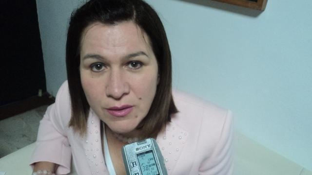 María Teresa Barán, vice ministra de salud de la república de Paraguay