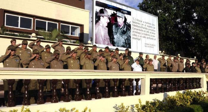 Envía Raúl Castro felicitación combatientes de la Contrainteligencia Militar