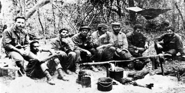 El Che específica lo que hicieron varios de los integrantes de la guerrilla que dirige en Bolivia