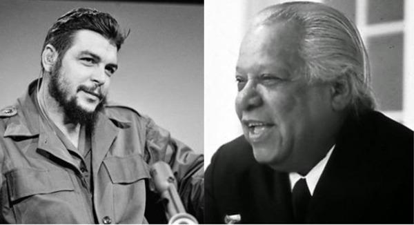 Che Guevara habla de la poesía de Nicolás Guillén