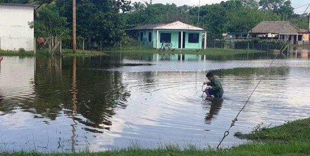 Ciénaga de Zapata: un tercio de su población continúa evacuada